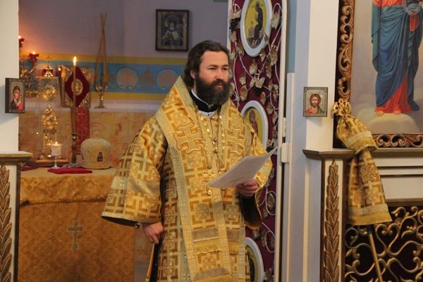 Объявление: Божественная литургия в Казанском храме г.Павловска