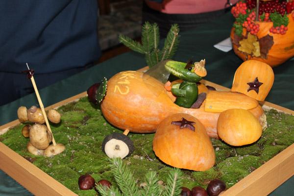 1 осенние поделки из овощей