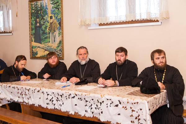 В Серафимо-Саровском монастыре состоялся семинар по вопросам взаимодействия Русской Православной церкви с учреждениями УФСИН России по Воронежской области