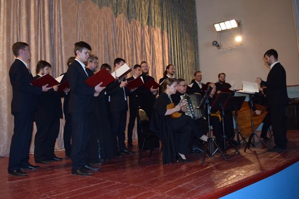 Архиерейский мужской хор Саратовской митрополии выступил для осужденных ИК-9 г. Борисоглебска