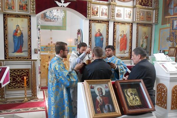 Исправительную колонию № 8 города Россоши посетил Епископ Россошанский и Острогожский Андрей